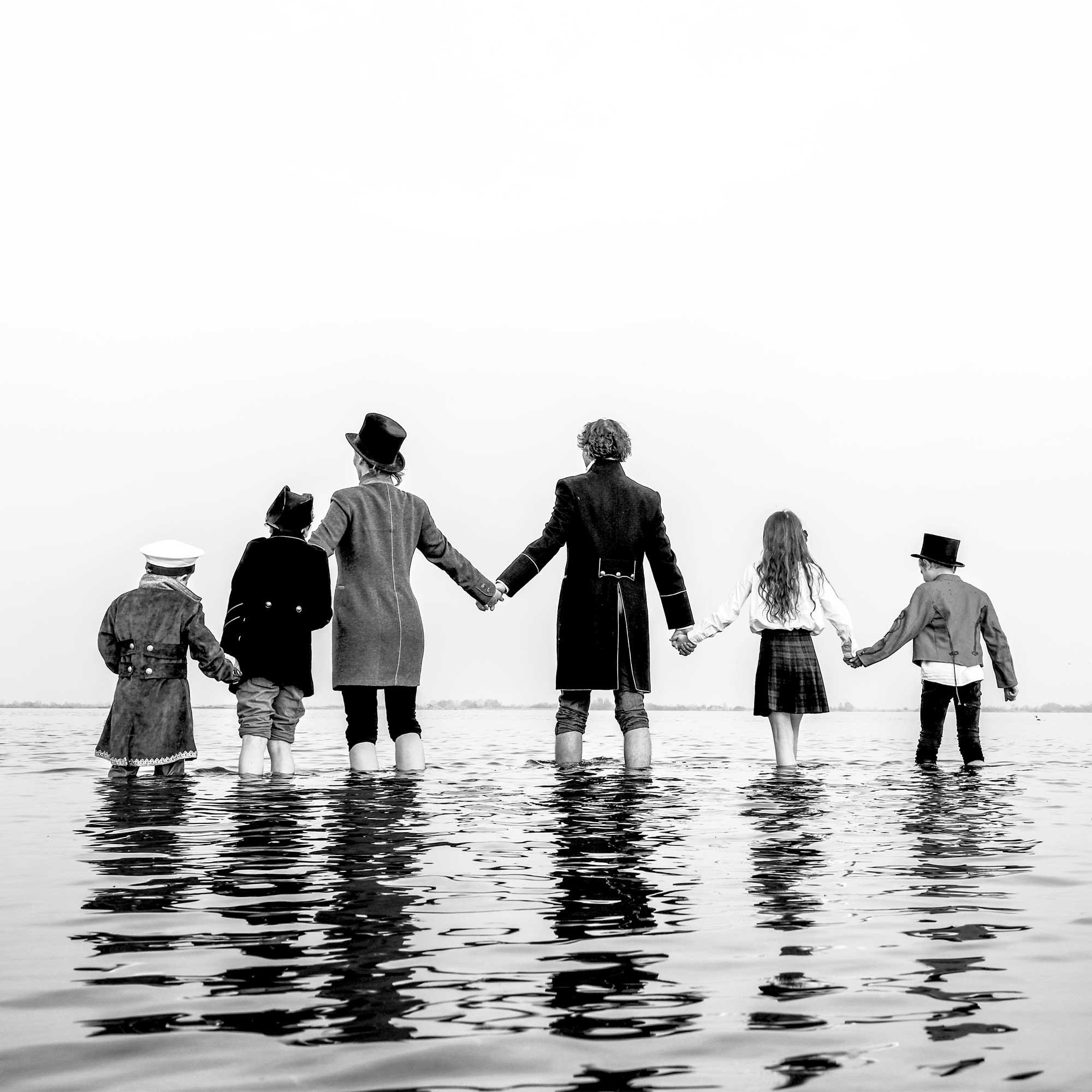 Familiefotografie water