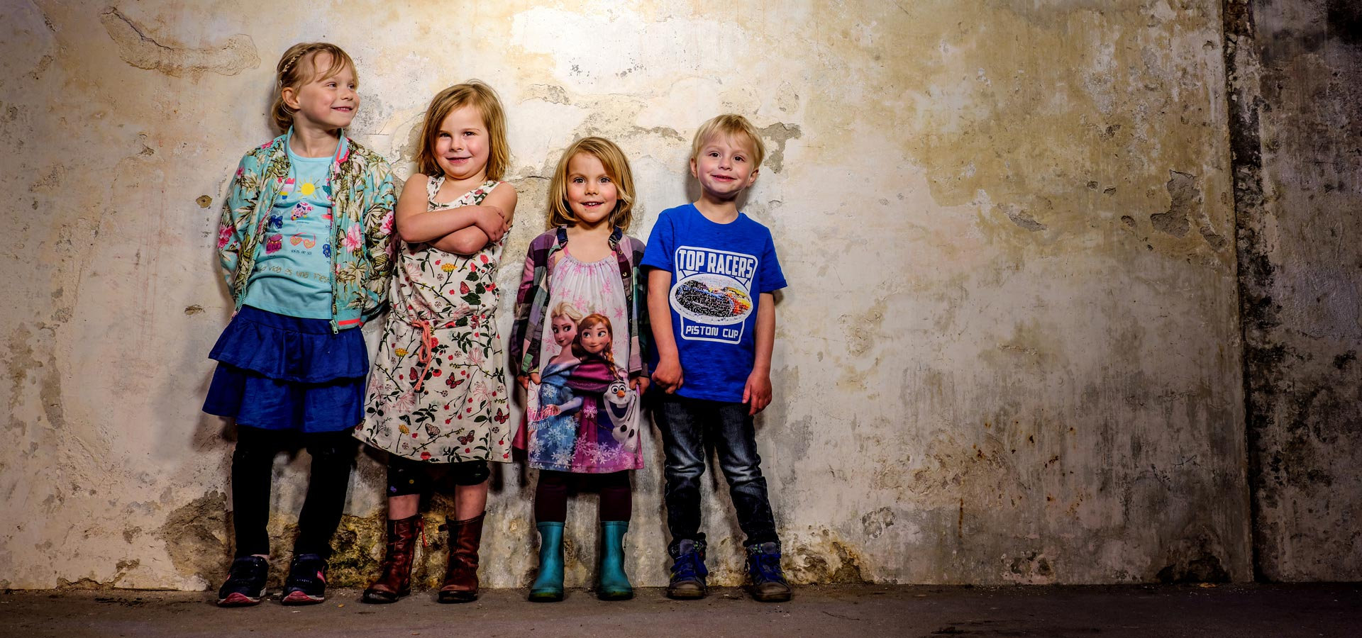 Kinderfotografie kleur