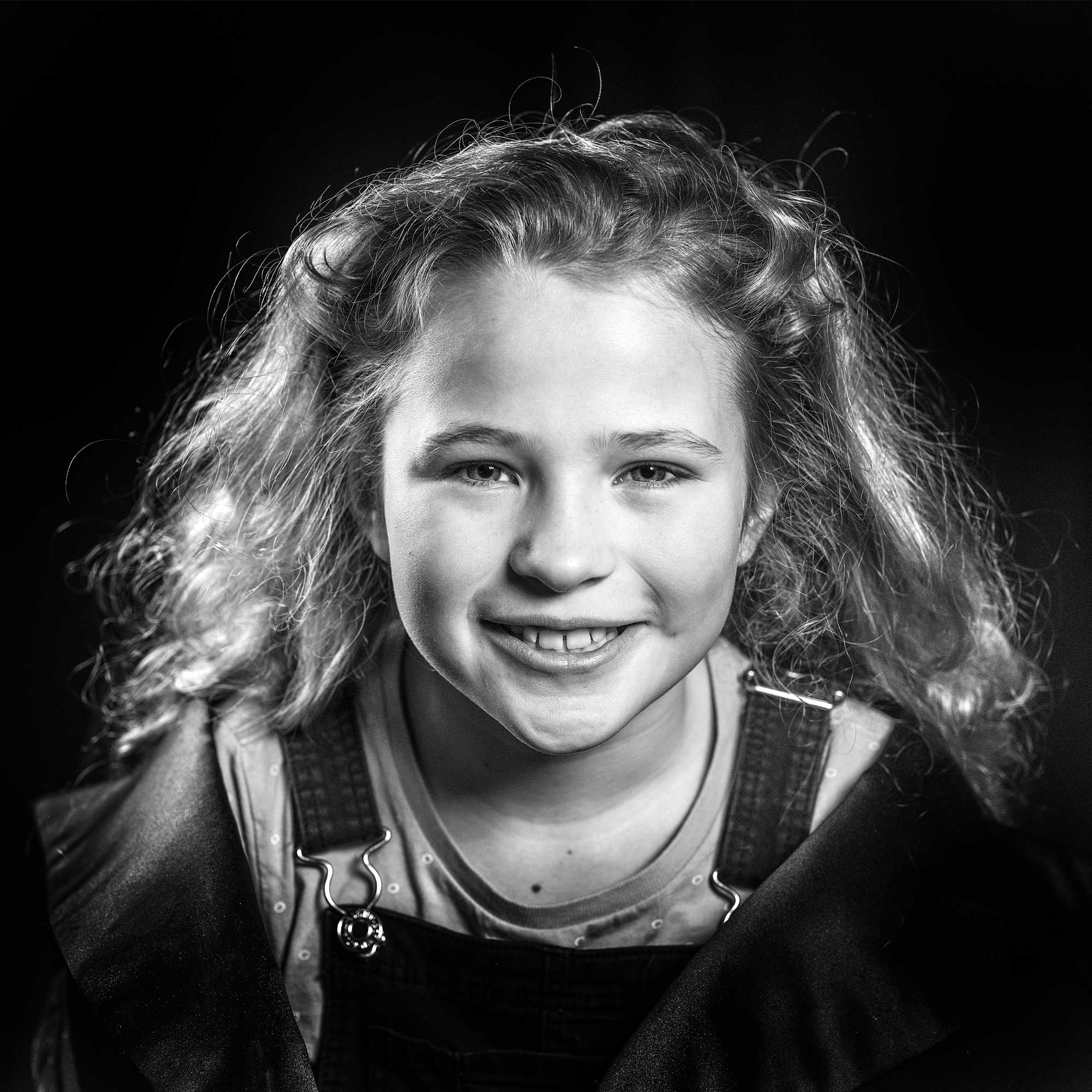 Portretfotografie Zwart-wit